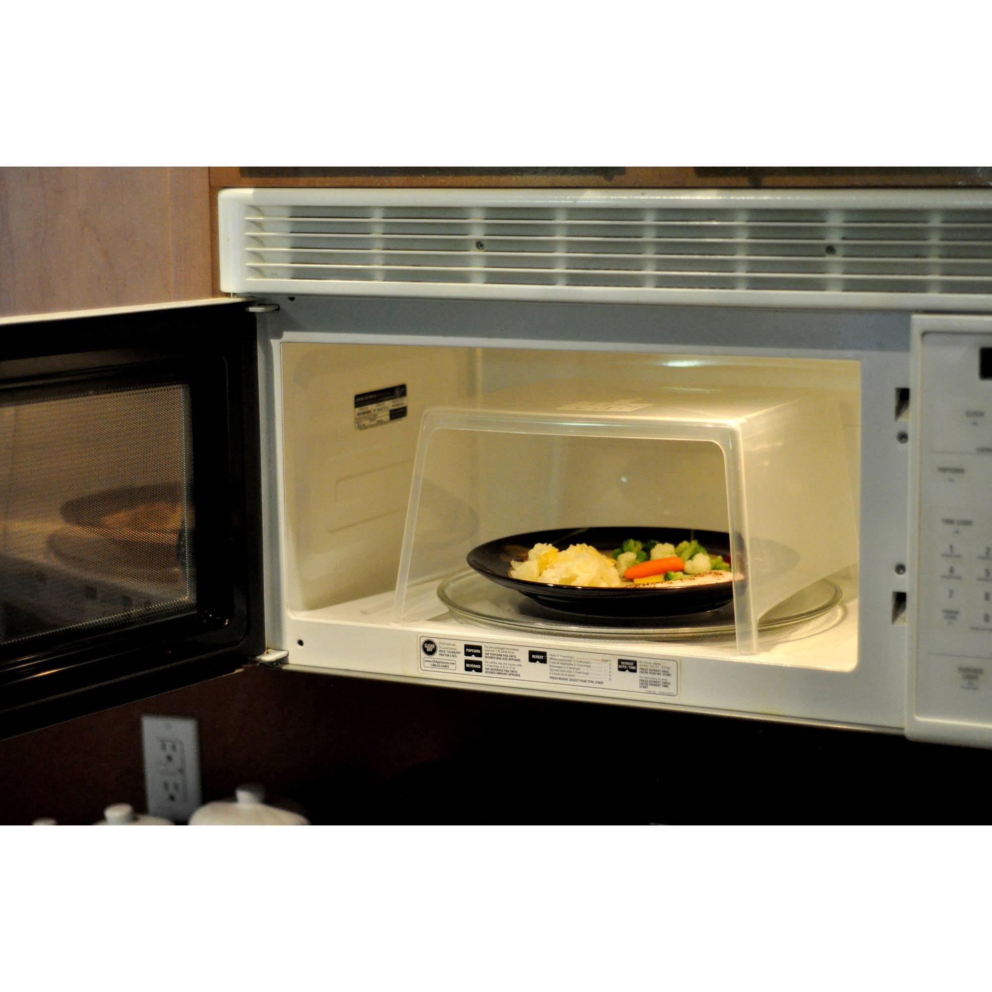 Microwave Super Guard Microwave Splatter Guard   Walmart.com