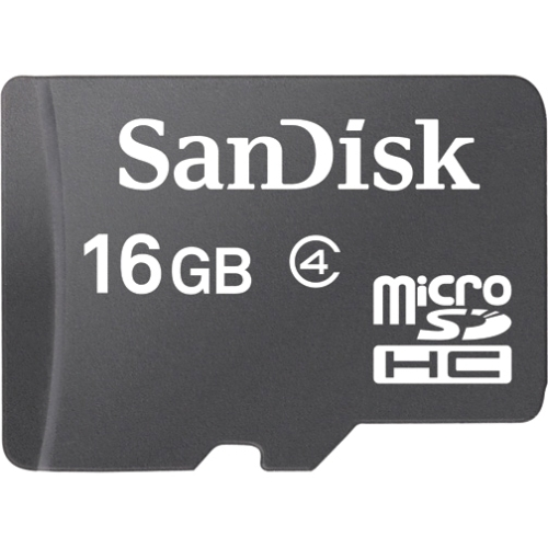 16GB MICRO SD CARD + ADAPTER