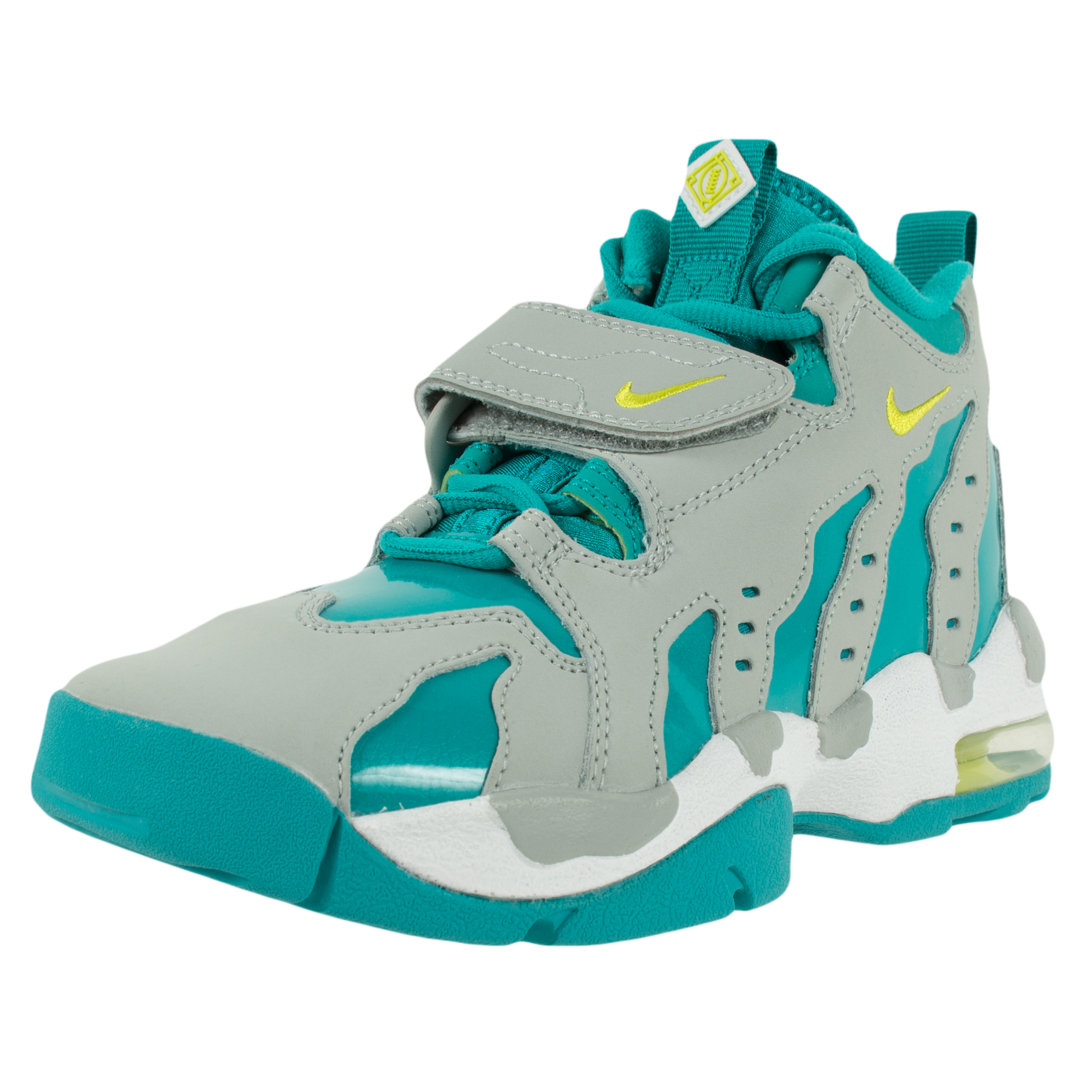 Nike YOUTH AIR DT MAX '96 GS CROSS TRAINERS WOLF GREY VEN...