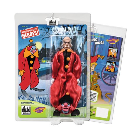- Scooby Doo Retro 8 Inch Action Figures Series One: Ghost Clown