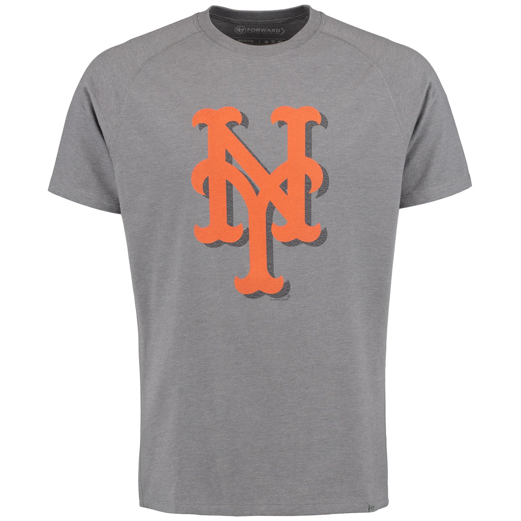 New York Mets '47 Forward Speed Up T-Shirt - Gray