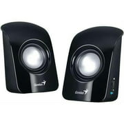 Genius 31731006100 SP-U115 1.5W 3.5mm PC Notebook MP3 CD Device USB Speaker Black Retail