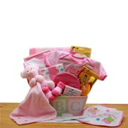 GBDS 890332-P Easy as ABC New Baby Gift Basket - Pink