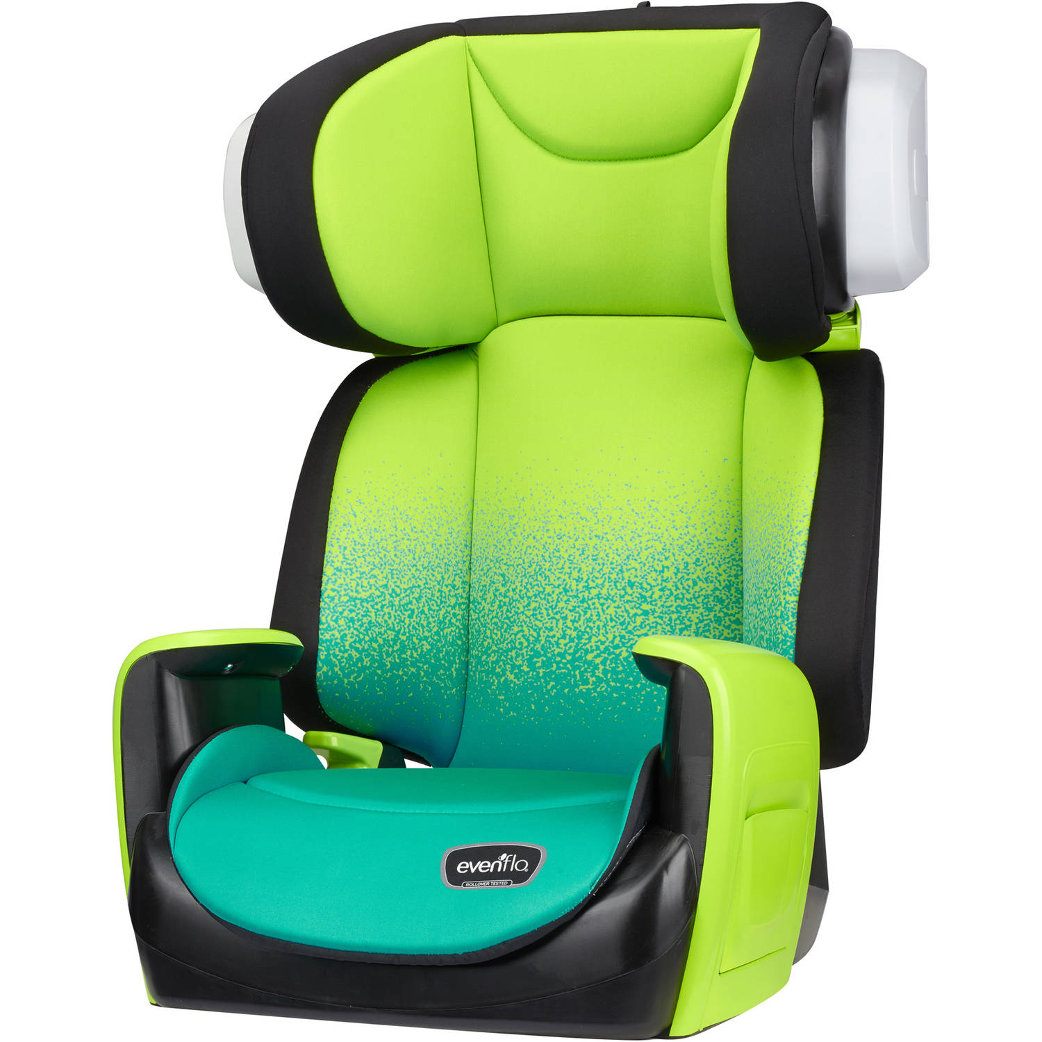 Evenflo Spectrum 2-in-1 High Back Booster Car Seat, Seascape