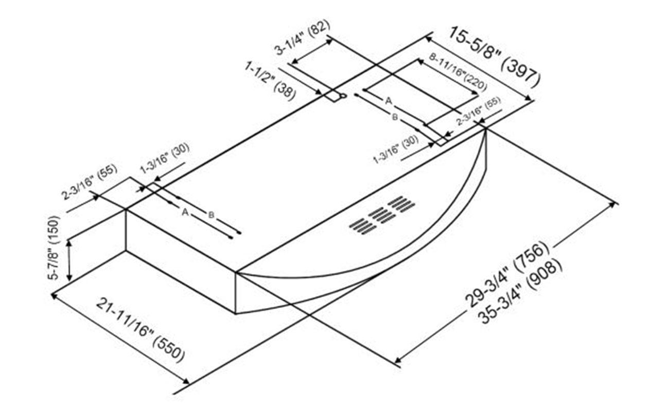 Kobe Chx3830sqbd 3 Brillia 30 Inch Ductless Under Cabinet Range Hood