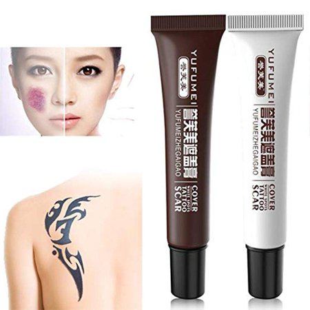 Yosoo Concealer To Cover Tattoo/Scar / Birthmarks/Vitiligo ...