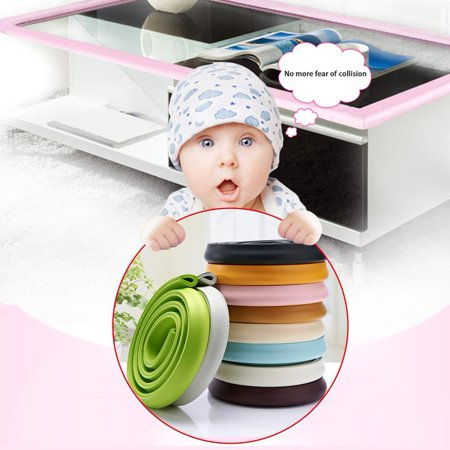 Kids Furniture Corner Desk - U Shape Children Baby Safety Protect Cover Glass Table Desk Edges Furniture Bar Corner Strip Crashproof Anti-collision Bumper