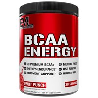 Evlution Nutrition BCAA Energy Powder, 30 Servings