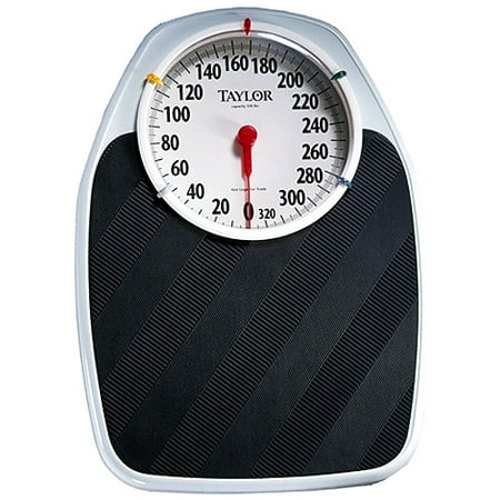 Taylor Mechanical Analog Bath Scale Style T Walmartcom - Digital vs analog bathroom scale