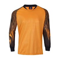 20a73e392 Product Image 1 Stop Soccer Adult Goalkeeper Soccer Jersey Light Padded  elbows