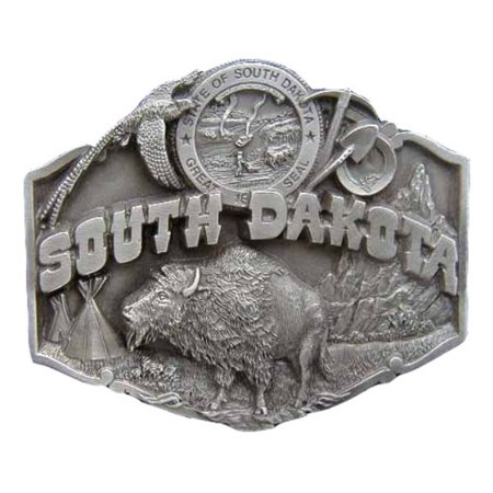 - South Dakota Novelty Belt Buckle