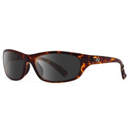 ONOS Oak Harbor Grey Mirror +2.00 power Polarized Tortoise Frame (Polarized Power Sunglasses)
