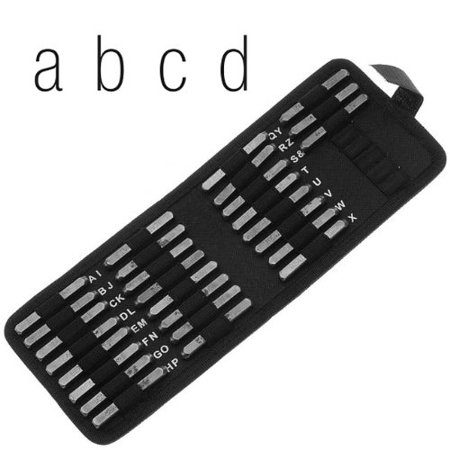 - XTL-0782 Lowercase Gothic Font Alphabet Letter Punch Set, 6mm, 1 set of Gothic font lowercase punches. 26 letter punches (a through Z) 1&symbol punch By Beadsmith