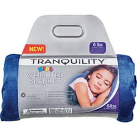 Tranquility Kid'S Weighted Blanket, 6Lbs With Washable Cover