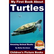 My First Book About Turtles: Amazing Animal Books - Children's Picture Books - eBook