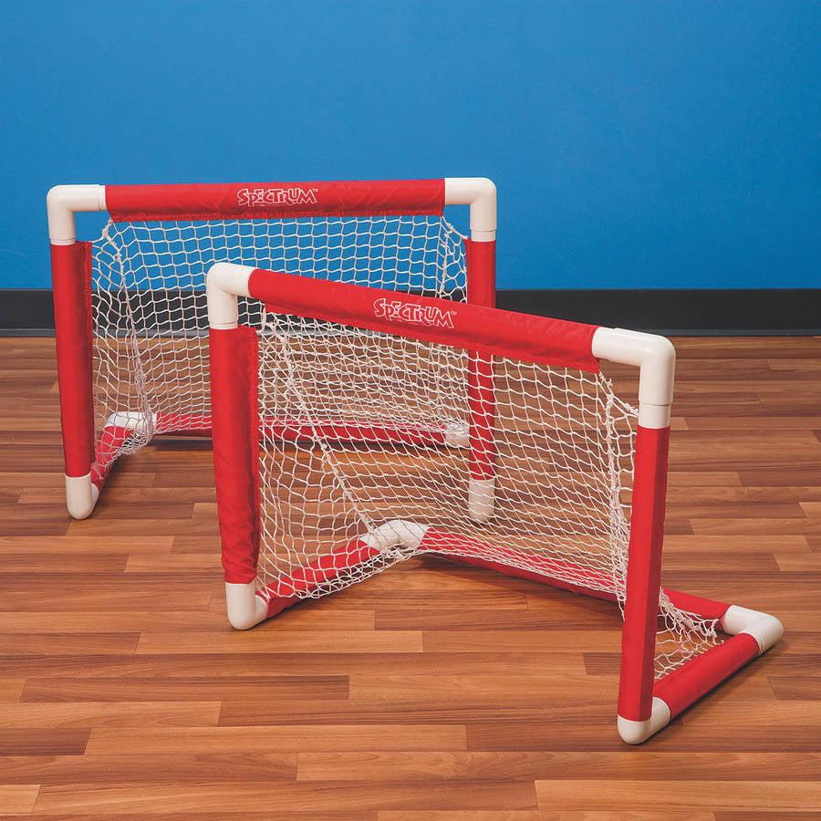 Mini Pvc Hockey Goal, Set of 2 by S&S Worldwide