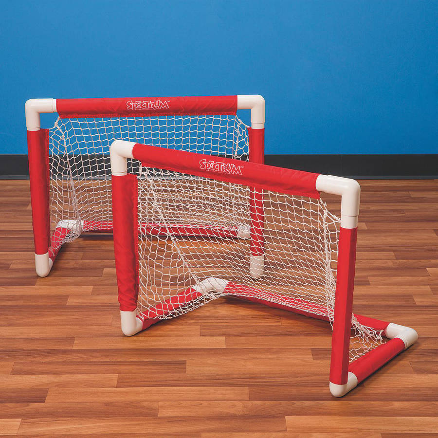 Mini Pvc Hockey Goal, Set of 2