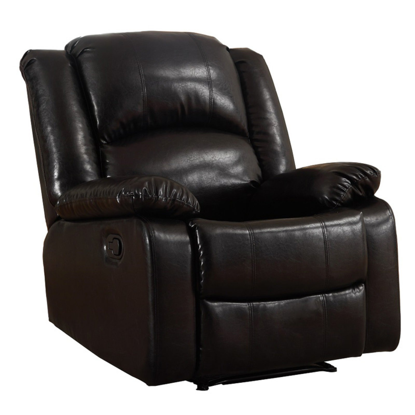 NH Designs Bonded Leather Glider Recliner