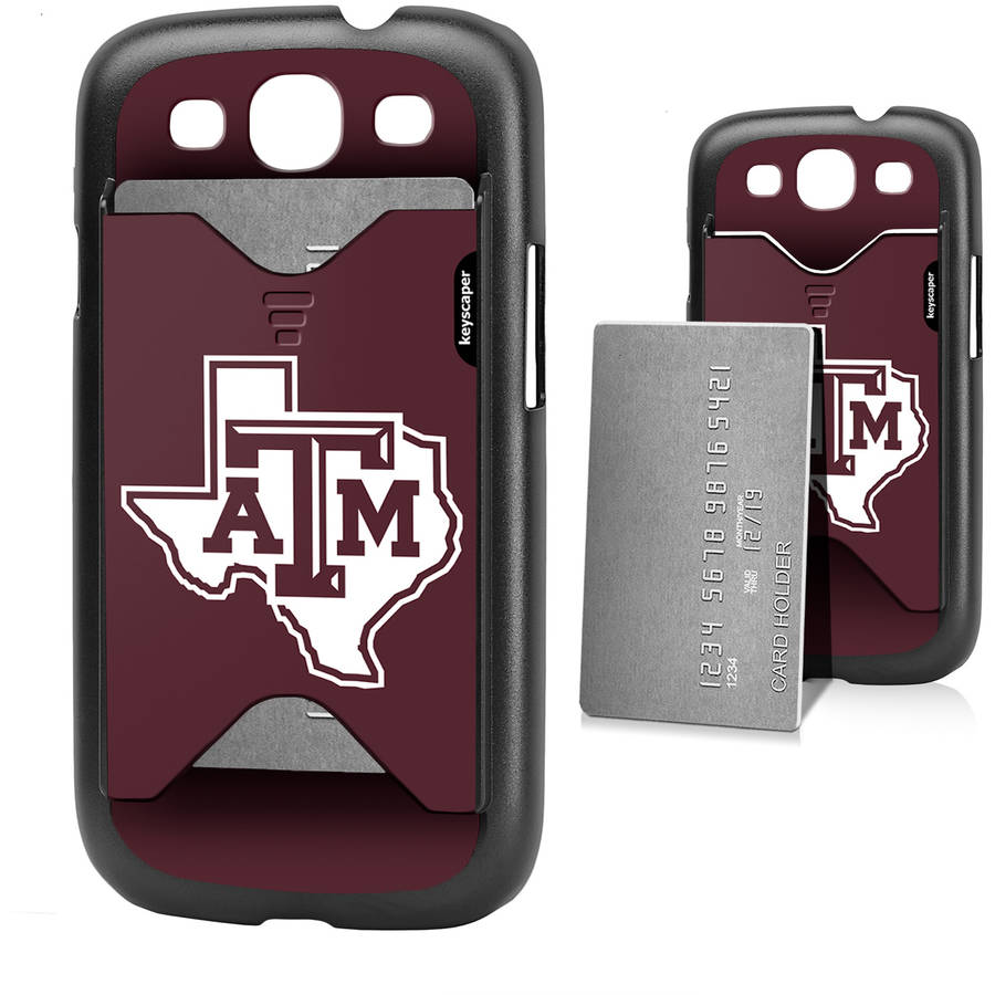 Texas A Aggies Galaxy S3 Credit Card Case