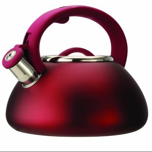 Epoca PAVRE-6225 Whistling Kettle Matte Red