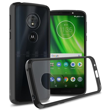 CoverON Motorola Moto G6 Play / Moto G6 Forge / Moto E5 Case, ClearGuard Series Clear Hard Phone Cover