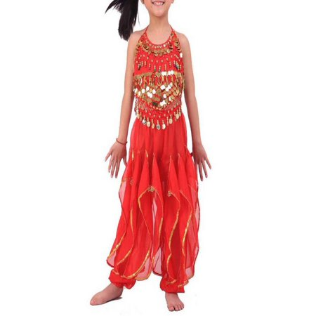 BellyLady Kid Children Belly Dance Costume, Harem Pants & Halter Top Sets - Belly Dance Costume
