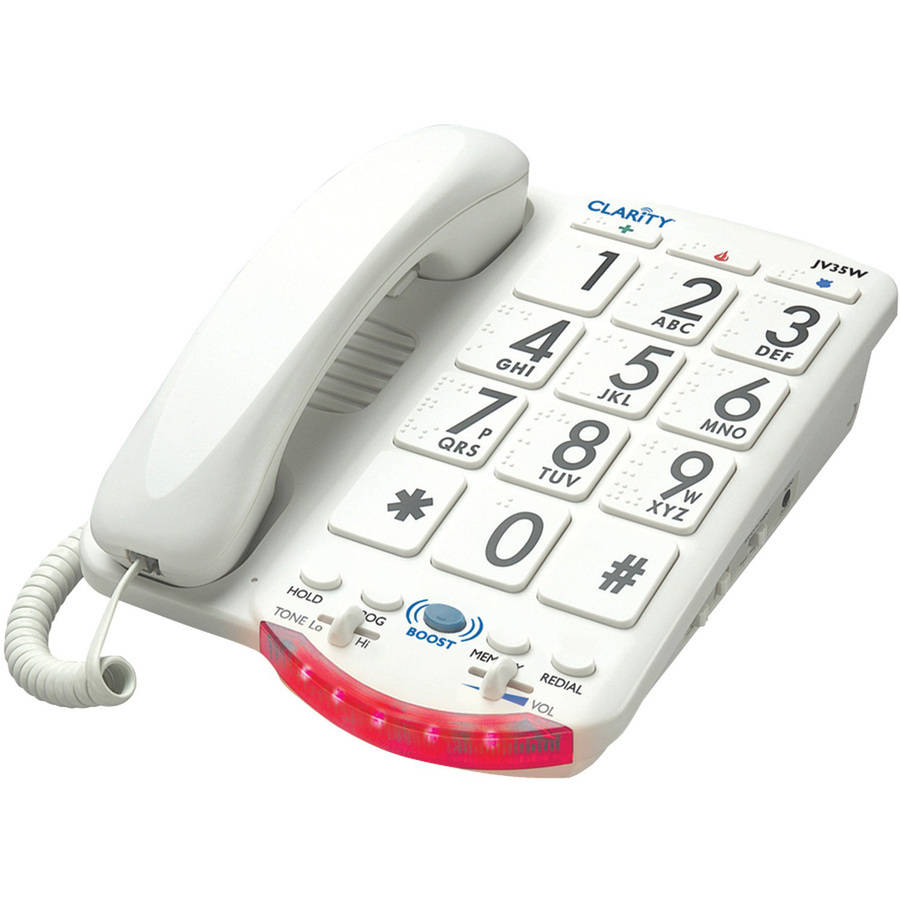 Clarity Amplified Telephone with Talk Back Numbers