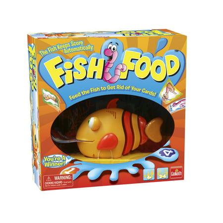 Fish Food (Scary Halloween Food Games)