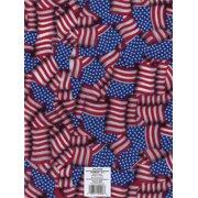 Printed Felt 9 Inch X 12 Inch-American Flag