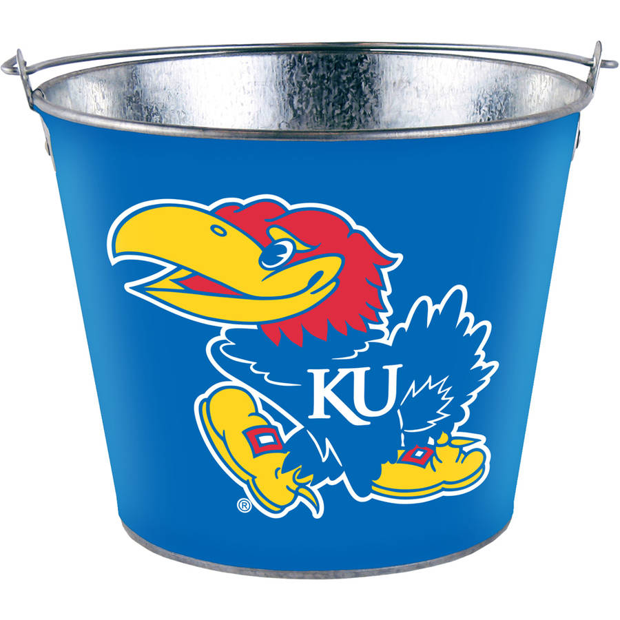 NCAA Kansas 5-Quart Bucket