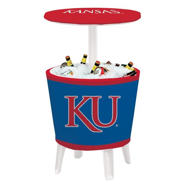 Victory Corps 810024KAN-004 NCAA Event Cooler Table Kansas - No.004