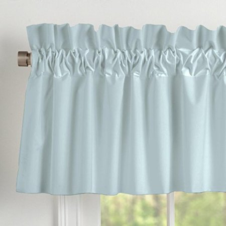 Carousel Designs Solid Robins Egg Blue Window Valance Rod Pocket