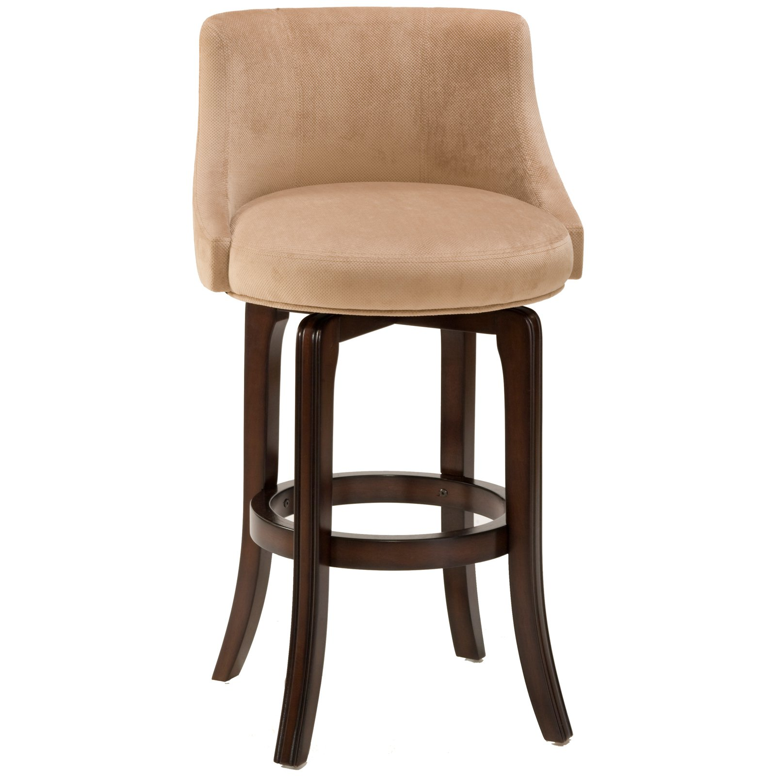 Hillsdale Napa Valley 25 In Swivel Counter Stool Khaki Fabric