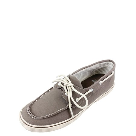George Men's Classic Canvas Boat Shoe with Memory (Best Men's Walking Shoes With Arch Support)