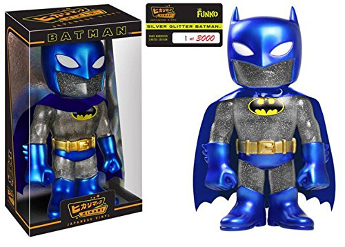Batman Blue Metallic Sofubi Hikari Vinyl Figure by Batman