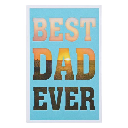 American Greetings Best Dad Ever Birthday Card for