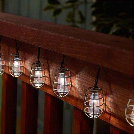 Smart Solar 3761WR20 Cornelius Solar String 20 White LED Light, Pewter - image 1 of 1