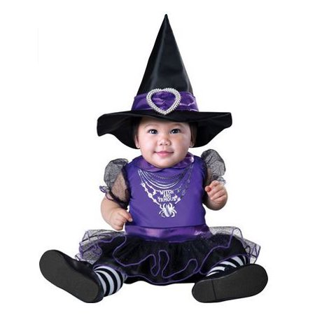 Baby Halloween Costume : Baby Girls Witch and Fabulous 12-18 - Toddler Halloween Witch Costume