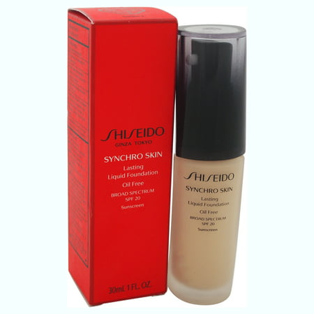 Synchro Skin Lasting Liquid Foundation SPF 20 - # 2 Golden by Shiseido for Women - 1 oz Foundation