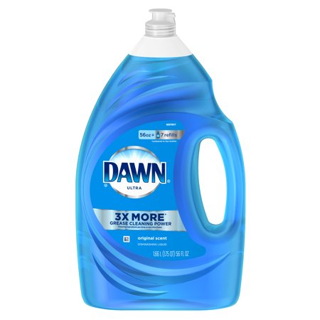 (2 pack) Dawn Ultra Dishwashing Liquid Dish Soap Original Scent, 56 fl oz