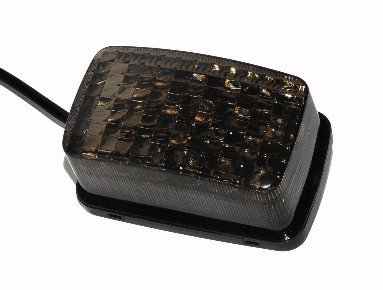 YFM LED Smoke lens tail brake stop light for yamaha atv 350 400 450 660 250 4x4