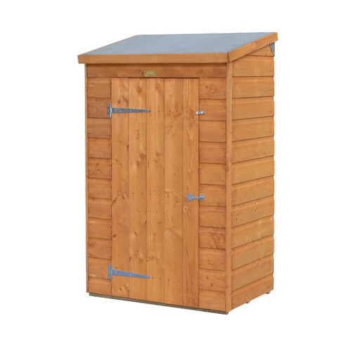 Rowlinson 3 ft. 1 in. W x 2 ft. 1 in. D Wooden Vertical Tool Shed