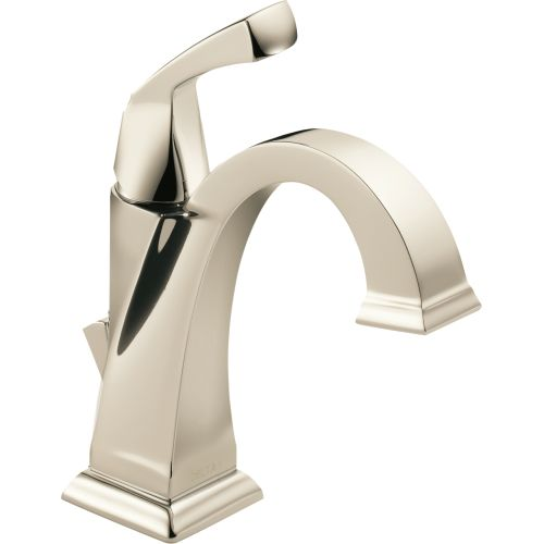 Delta Dryden Single Hole Lavatory Faucet, Available in Various Colors by Delta