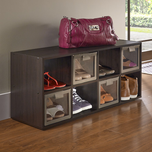 ClosetMaid Shoe Organizer, Espresso
