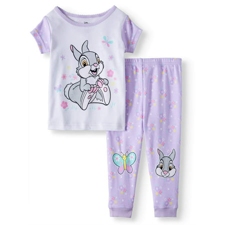 Winnie the Pooh Cotton tight fit pajamas, 2pc set (baby girls)