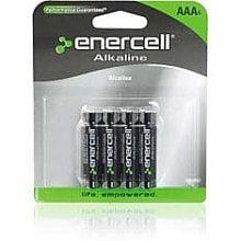 Alkaline AAA Batteries - 4 Packs of 4 Enercell Alkaline AAA Batteries - 4 Packs of 4