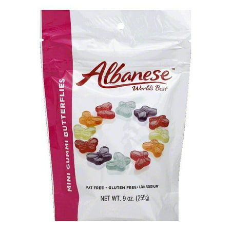 Albanese  Mini Gummi Butterflies, 9 Oz (Pack of 6)