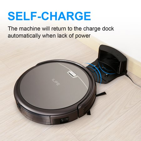 ILIFE A4S Robotic Vacuum Cleane Smart Auto Robot Floor Cleaning Sweeper for Pets Hard Carpets,hard