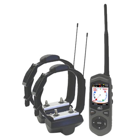 Wireless Fence, Dog Tracker & Remote Trainer GPS Invisible