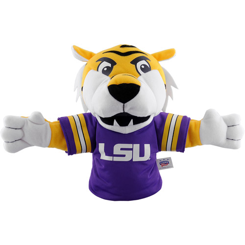 "NCAA Louisiana State University Tigers (LSU) ""Mike the Tiger"" Mascot Hand Puppet"